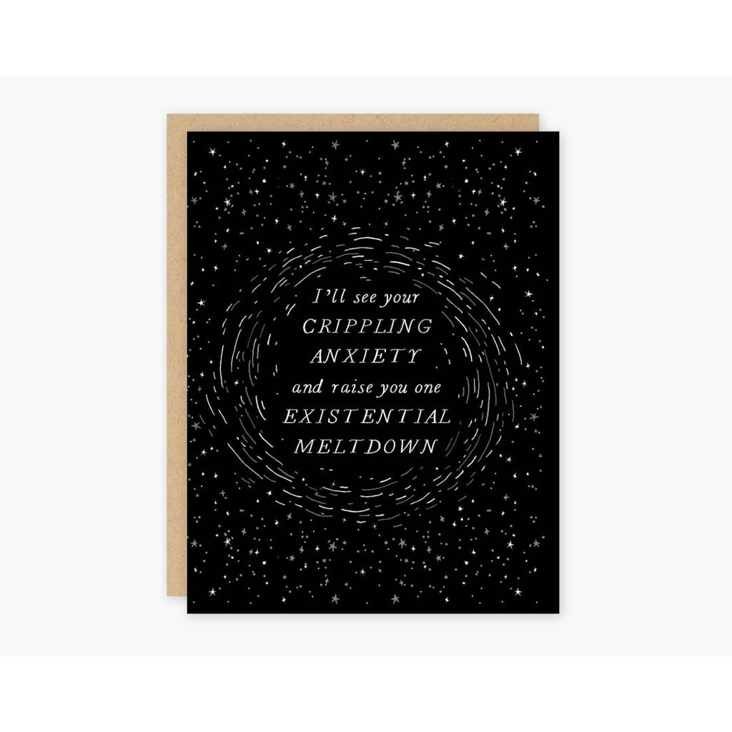 Existential Meltdown Card