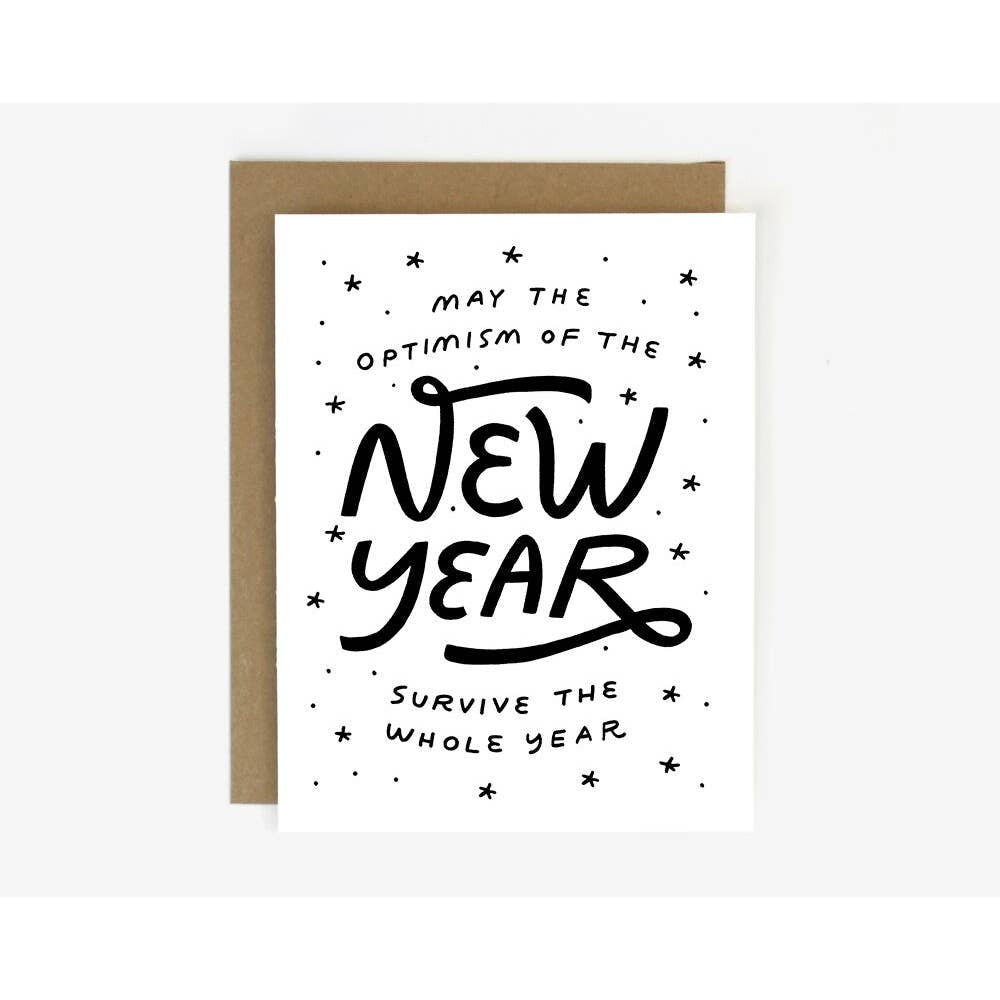 New Year Optimism Card