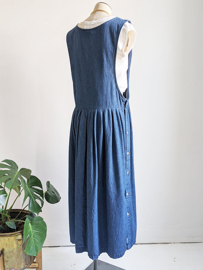 AE Dark Denim Smock Dress