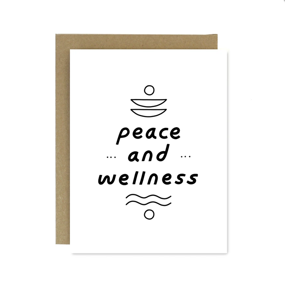 Peace and Wellness Card