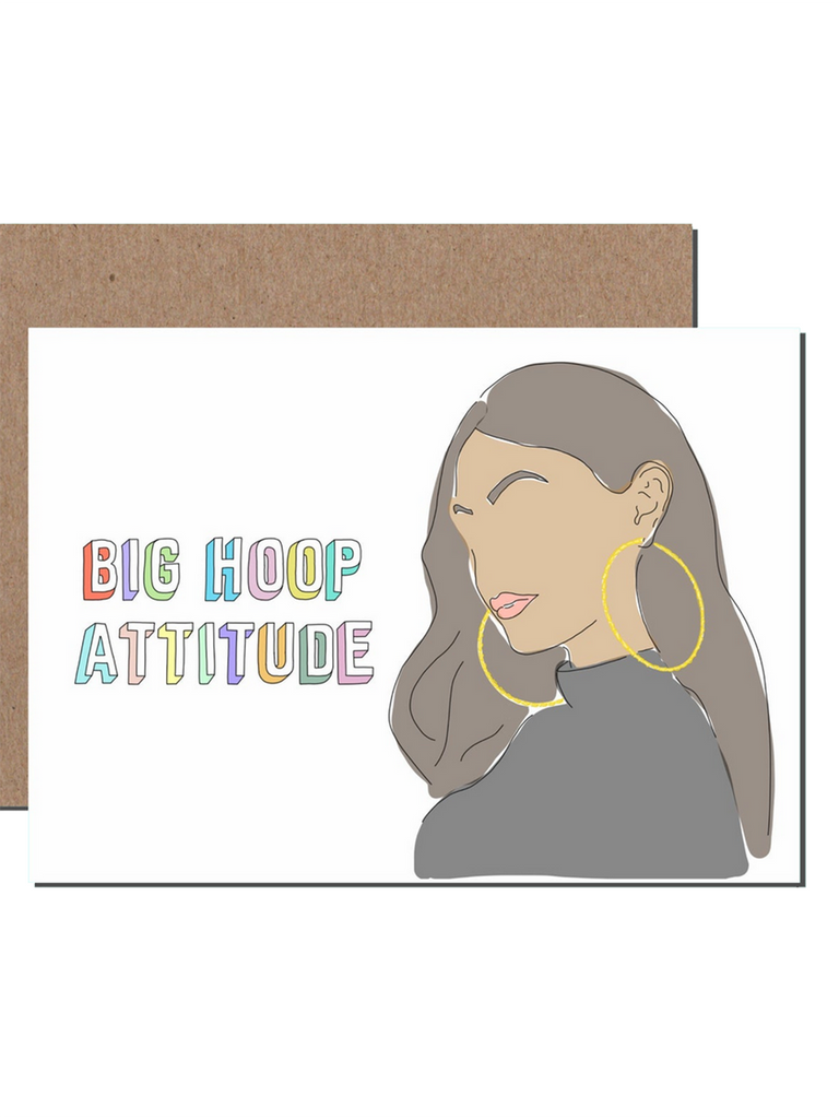 Big Hoop Attitude Card