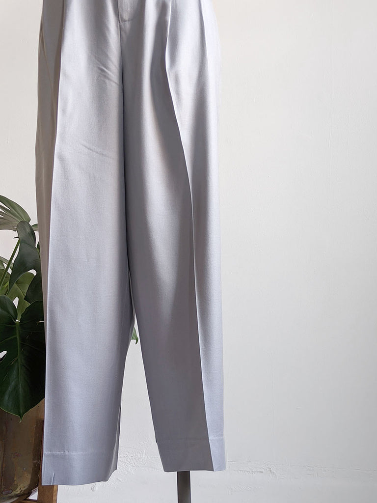JPeterman Gray Annie Hall Trousers