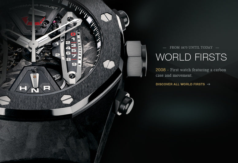 Audemars Piguet World's First Photo