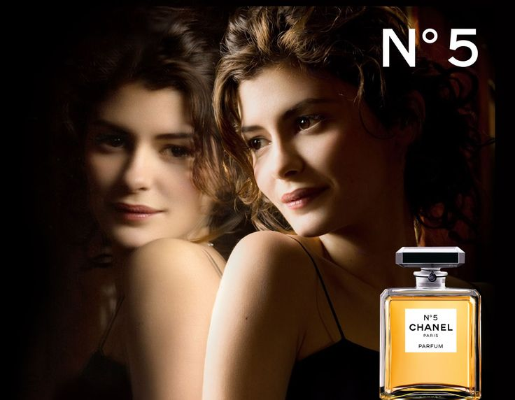 Audrey Tautou in the modern Chanel No5 Advert