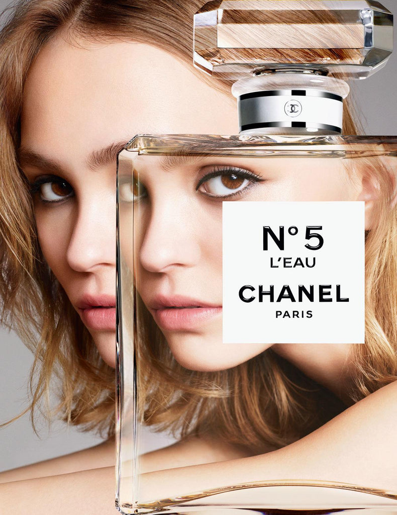 The new face of N°5. L'Eau Lily-Rose Depp