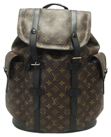 Christopher Pm Monogram Macassar Backpack. Backpack