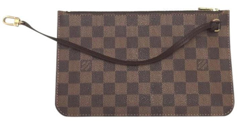 Neverfull Mm Or Gm Damier Ebene Clutch