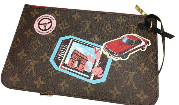 Neverfull Mm World Tour Limited Edition Clutch