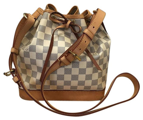 Noe Bb Damier Azur. Date Code Ar5112 Cross Body Bag