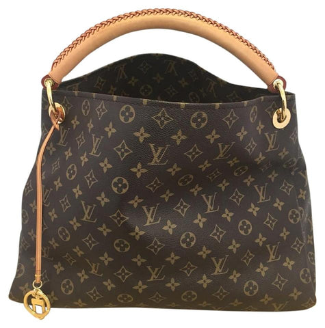 Artsy Mm Monogram With Dustbag Hobo Bag