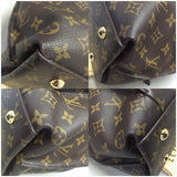 Metis Monogram. Dustbag, Handle And Strap. Hobo Bag