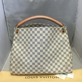 Artsy Mm Damier Azur. Near New! Hobo Bag