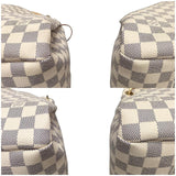 Artsy Mm Damier Azur With Dustbag Hobo Bag