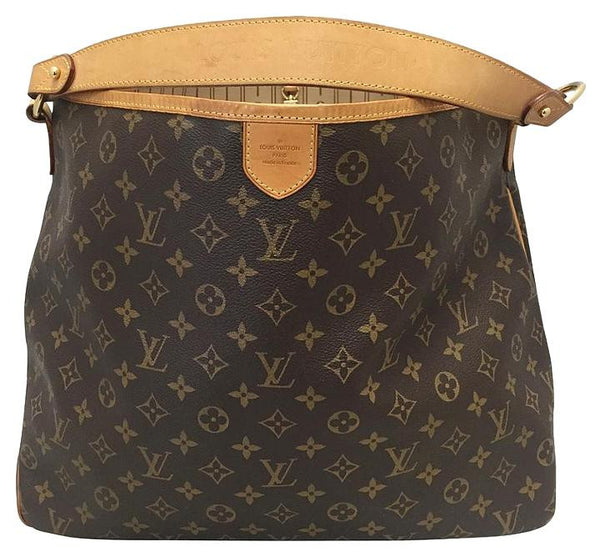 Delightful Mm Monogram. Hobo Bag