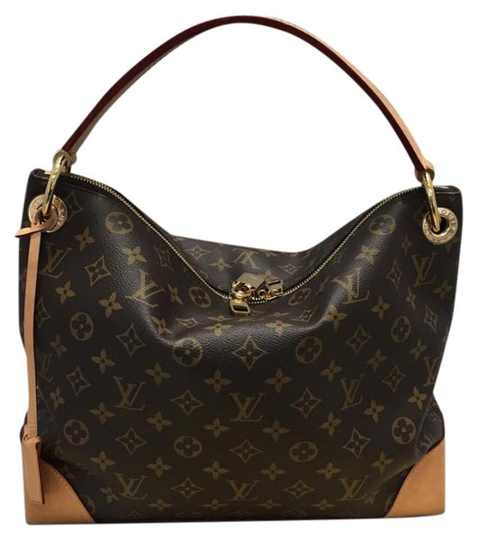 Berri Pm Monogram Hobo Bag