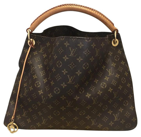 Arsty Gm Monogram Hobo Bag