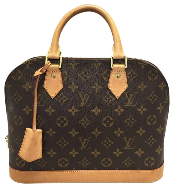 Alma Pm Monogram. Comes With Lock And Keys!date Code Fl1100 Satchel
