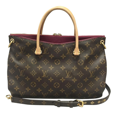 Pallas Monogram Satchel