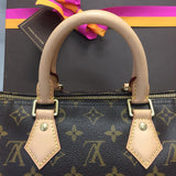 Speedy 25 Monogram With Accessories Satchel