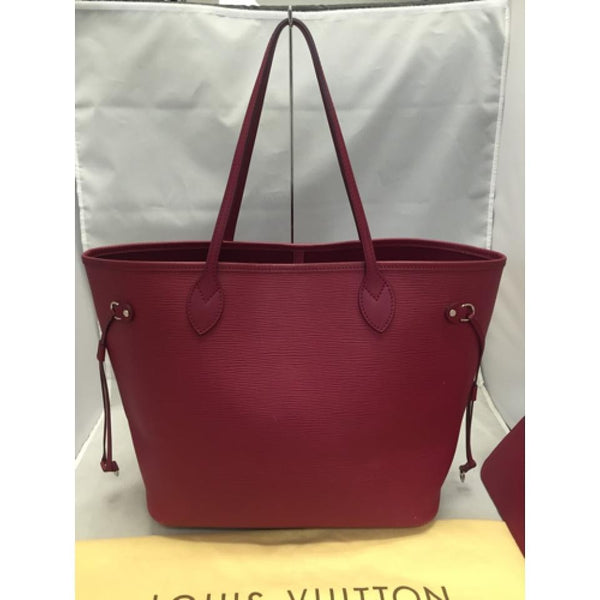Neverfull Mm Epi Fushia. Comes With Pouch And Dustbag. Date Code Ar2143 Tote Bag