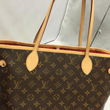 Neverfull Mm Monogram Orange Piment. Near New With Dustbag Tote Bag