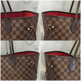 Neverfull Gm Damier Ebene With Dustbag. Tote Bag