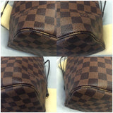 Neverfull Mm Damier Ebene With Dustbag- Date Code Ar2125 Tote Bag