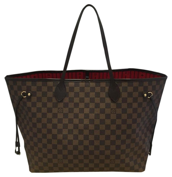Neverfull Gm Damier Ebene.comes With Dustbag. Date Code Fl2191 Tote Bag