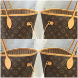 Neverfull Gm Monogram With Dustbag- Date Code Fl0154 Tote Bag