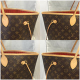 Neverfull Gm Monogram Piment With Dustbag Tote Bag