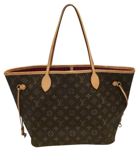 Neverfull Mm Monogram Pivoine With Dustbag And Tags Tote Bag