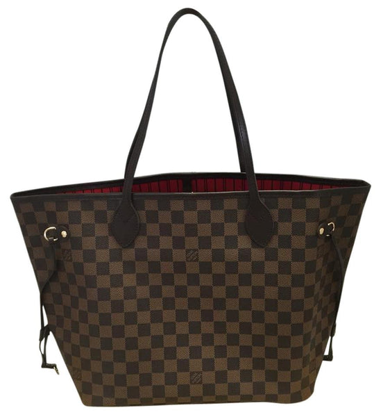 Neverfull Mm Damier Ebene. Like New With Dustbag. Tote Bag