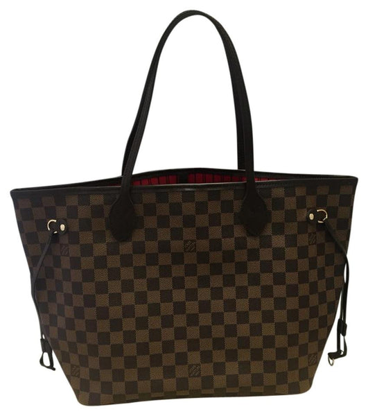 Neverfull Mm Damier Ebene. Like New Tote Bag