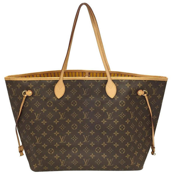 Neverfull Gm Monogram Mimosa With Dustbag Tote Bag