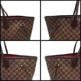 Neverfull Gm Damier Ebene. Near New Tote Bag