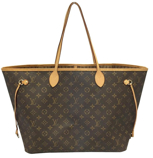Neverfull Gm Monogram W/ Dustbag Tote Bag