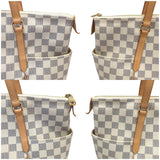 Totally Mm Damier Azur W/ Dustbag Tote Bag