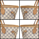 Neverfull Mm Damier Azur W/ Dustbag Tote Bag