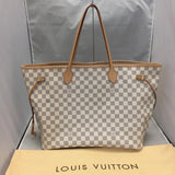 Neverfull Gm Damier Azur. Tote Bag