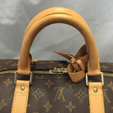 Keepall 55 Monogram. Comes With Luggage Tag, Handle Connector, Lock And Keys! Travel Bag