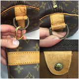 Vintage Keepall 55 Bandouliere Monogram. Comes With Strap, Luggage Tag And Handle Connector. Travel Bag