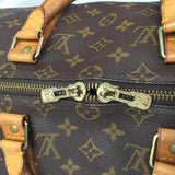 Vintage Keepall 50 Monogram. Comes With Luggage Tag And Handle Connector. Travel Bag