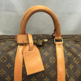 Vintage Keepall 55 Monogram. Comes With Luggage Tag And Handle Connector. Travel Bag
