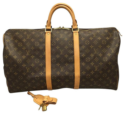 Keepall 55 Monogram. Travel Bag