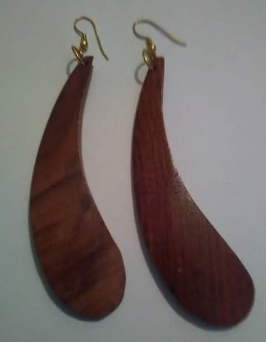 Fredrika Wood Earrings