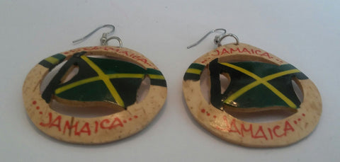 Jamaica hand Crafted Earrings