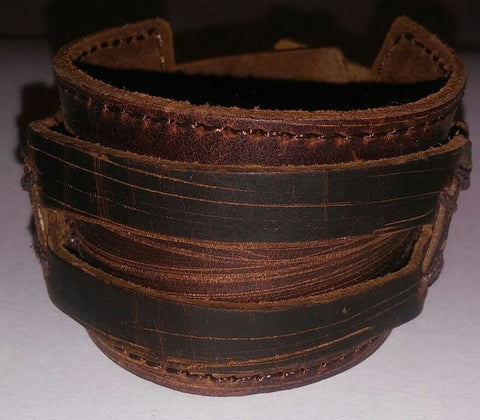 Brown Leather Rodeo Band