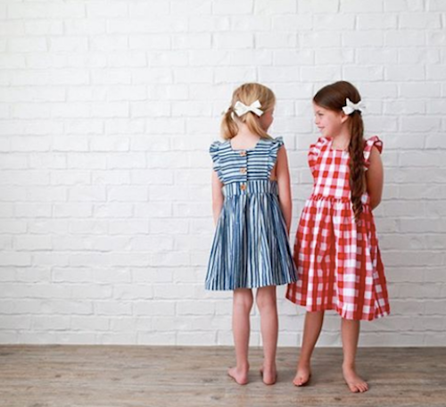 Promptly Journals 4th of July Outfit Ideas - Wren and James Pinafore Dresses