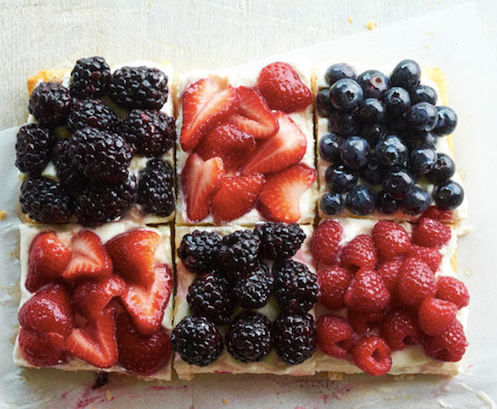 Better Homes & Gardens Red, White, and Blue Berry Tart - 4th of July Party Ideas