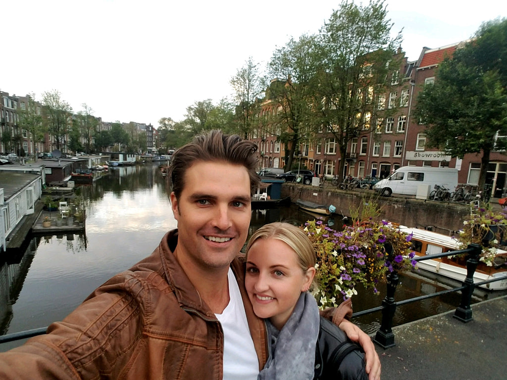 Amsterdam Tessa Woolf and Chris Neihart